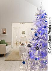 暮らし, 木, 部屋, クリスマス, 大きい