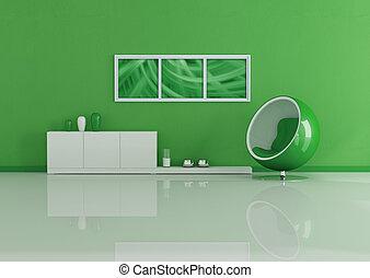 暮らし, 現代, 緑, 部屋