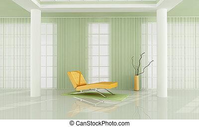 暮らし, 白, 緑, 部屋