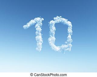 曇り, 10