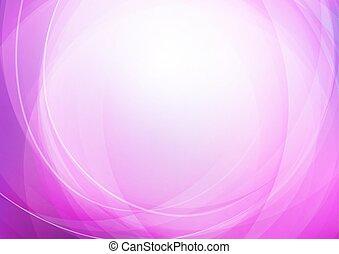 曲がった, 背景, 抽象的, 紫色
