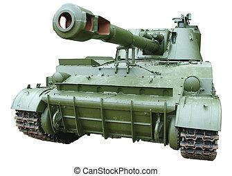 曲射砲, self-propelled, 装甲