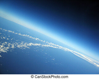 曲率, ......的, 地球