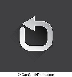 更新, 網, icon.