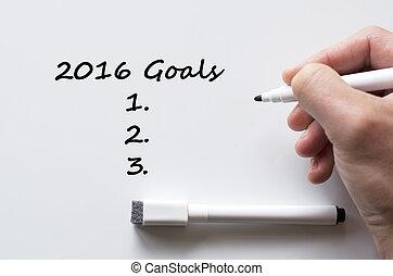 書かれた, 2016, ゴール, whiteboard