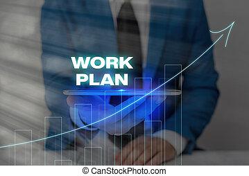 書法, 怎樣, 概念, 意志, 項目, 正文, 要點, 意思, 它, 寫, 是, plan., 完成, done., 工作