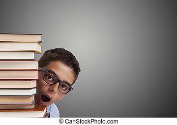 書, 年輕, 成人