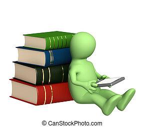 書, 木偶, 電子書