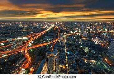 曼谷, 城市