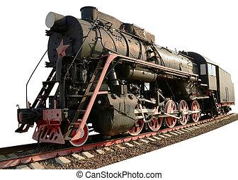 最も古い, 蒸気, 機関車