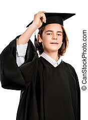 最も良く, 卒業