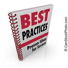 最も良く, 本, 練習する, 考え, 成功