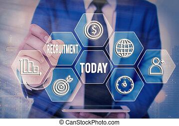 最も遅く, 手の執筆, ビジネス, 格子, アイコン, 参加しなさい, 写真, テキスト, 新しい, concept., 構成, デジタル, 別, サポート, 提示, 技術, 可能, 従業員, 概念, 行動, recruitment., ∥あるいは∥, 見つけること