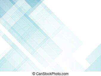 最小である, 青, 技術, 抽象的, 背景