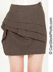 最新流行である, ファッション, スカート