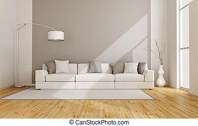 最簡單派藝術家, 休息室