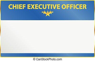 最高経営責任者, カード