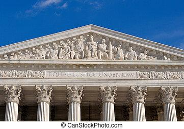 最高裁判所, の, 米国