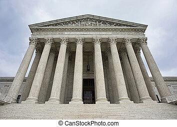 最高裁判所, 建物。