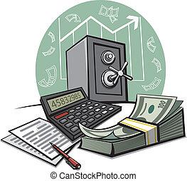 會計, 金融