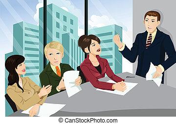 會議, 事務