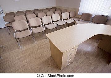會議, 內部, 現代的房間, 辦公室