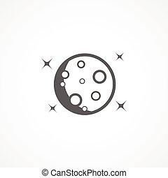 月亮, 图标