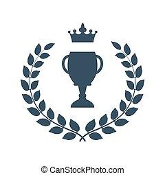 月桂樹の冠, 勝者, カップ