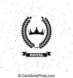 月桂樹の冠, 王冠