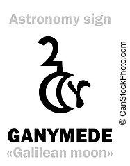 月, (galilean, iii), ganymede, astrology: