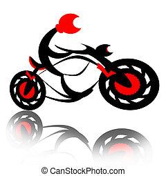 有反應, 摩托車