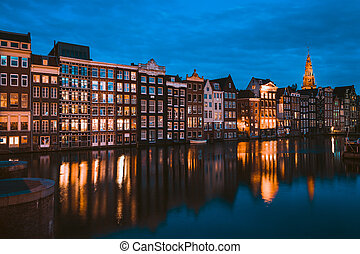 有名, アムステルダム, 場所