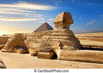 有名, スフィンクス, エジプト人