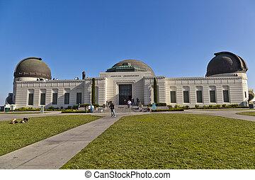 有名, griffith 天文台, 中に, ロサンゼルス