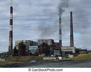 有害である, 産業, 工場, 自然