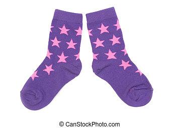 有條紋, 短襪