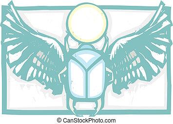 有翼, 一种肉食昆虫, 顏色
