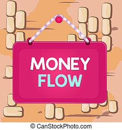 有色人種, しまのある, 執筆, ひも, panel., テキスト, お金, 増加, 概念, ∥あるいは∥, 長方形, 釘, 単語, 量, 板, 固定, ビジネス, 減少, フレーム, flow., 背景