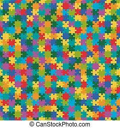有色人種, パターン, 困惑, -, 背景, 無限