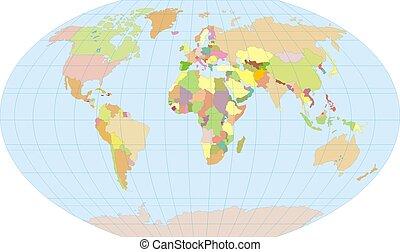 有色人種, 地球