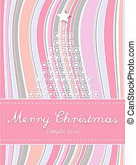 有色人種, 抽象的, ストライプ, 木。, 背景, クリスマス