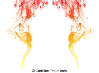 有色人種, 煙, 鏡
