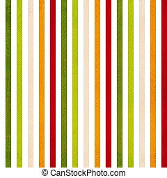 有色人種, 縦, パターン, ストライプ, -, ストライプ, 黄色, 緑, レトロ, 背景, ベージュ, 赤