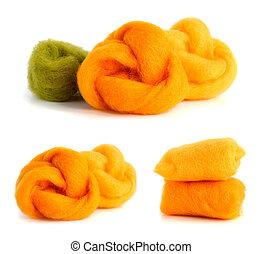 有色人種, 羊毛, ∥ために∥, needlework.