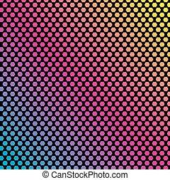 有色人種, pattern., イラスト, ベクトル, 背景, 幾何学的, 多角形