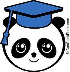 有趣, 熊貓, 學生