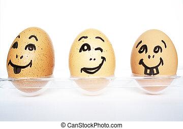 有趣, 蛋