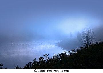 有霧, 早晨