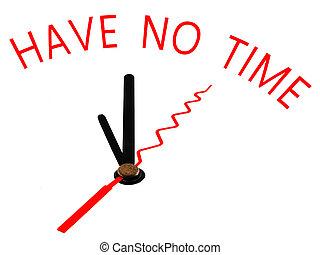 有, 不, 時間, 鐘, 概念