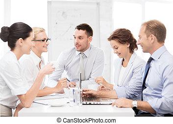 有, 會議, 辦公室, 商業組